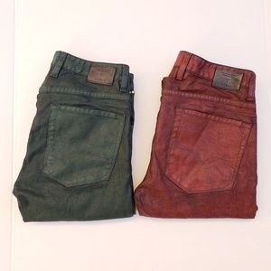 GUESS Alameda Slim Straight Tapered Jeans sz 32x32